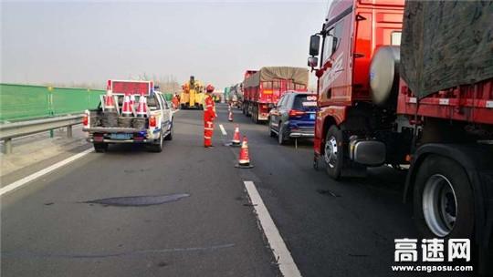 甘肃武威救援大队快速处置古永段两起事故保畅通