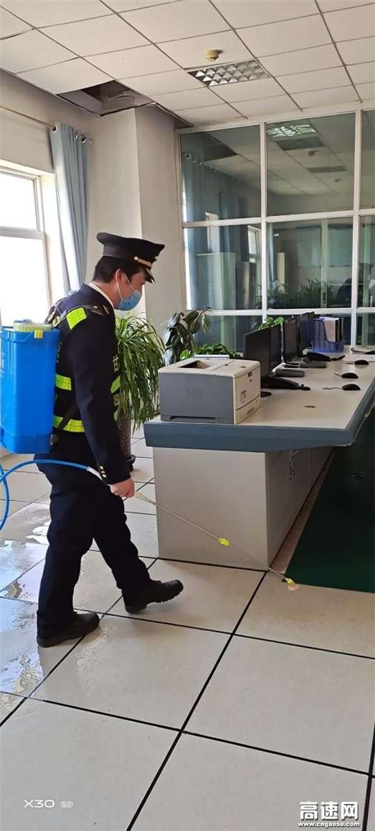 甘肃泾川所白水收费站五举措持续做好疫情防控工作