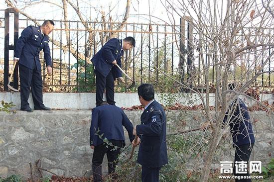 浙江:磐安收费站全面开展全域无垃圾治理工作
