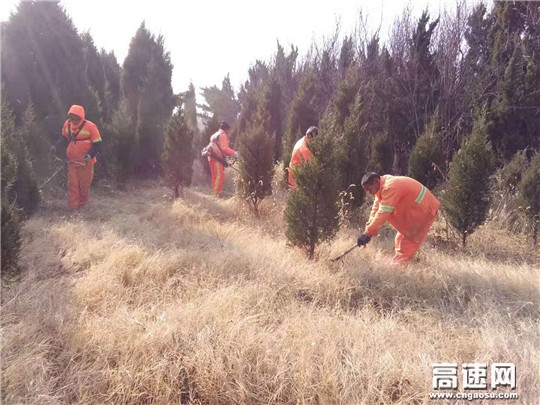 山东高速济宁养护分中心认真做好防火安全管控工作