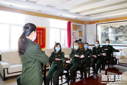 河北京张高速开展岗位培训备战复工复产