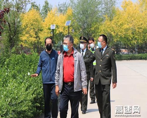 京石公司赵仲远副总经理到定州站督导节前安全生产工作