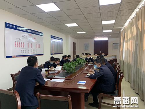 甘肃:景泰所寺滩站开展站级业务知识培训