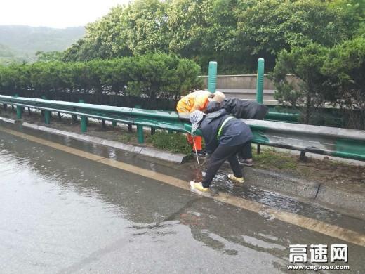 陕西高速集团西汉分公司宁陕管理所多措并举跑出迎国评加速度