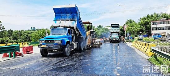 江西安福有序推动国省道养护大中修工程建设