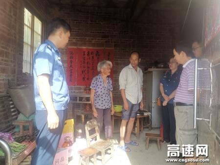 广西高速公路玉林分中心党总支庆祝中国共产党成立99周年系列活动之助力脱贫攻坚