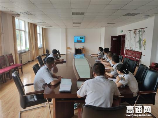 甘肃庆城高速公路管理所老城收费站开展纪检监察信访举报学习宣传活动