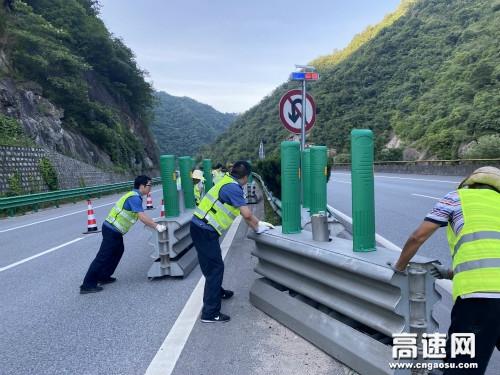 陕西西汉分公司宁陕管理所顺利完成大中修施工进场保畅任务