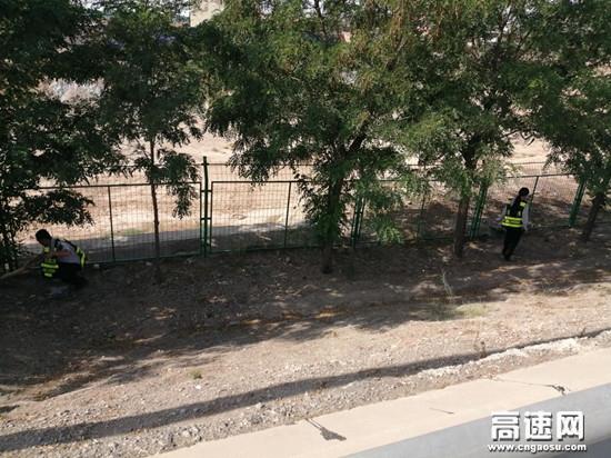 甘肃景泰收费站开展环境区域卫生专项治理取得实效
