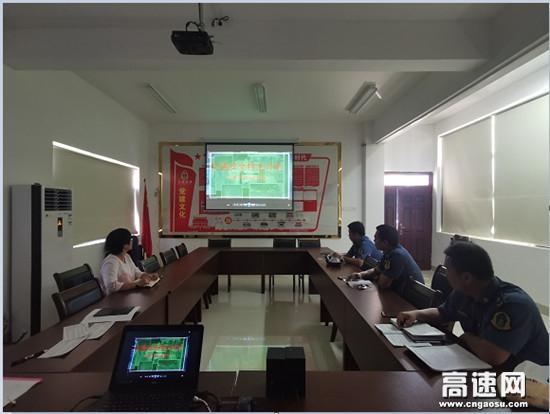 广西高速公路南宁分中心马山路政执法大队联合武鸣运营公司开展联合检查