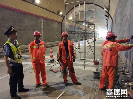 广西高速公路发展中心南宁分中心崇左路政执法大队多举措开展路域环境综合整治