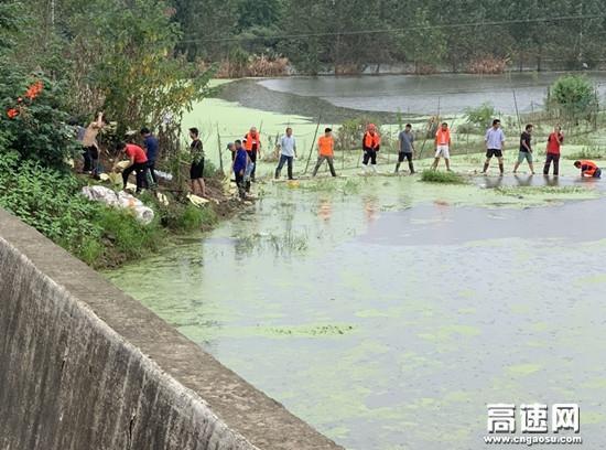 湖北高速路政黄黄支队大广北第二大队积极开展防汛工作确保安全度汛