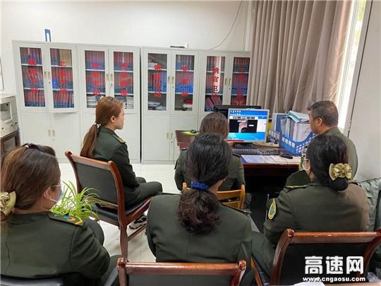 河北沧廊(京沪)高速姚官屯收费站参加收费投诉业务专题培训会议