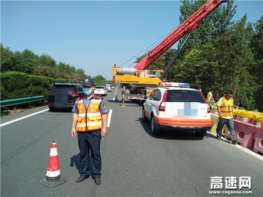 加强施工监管全力保障施工路段安全畅通