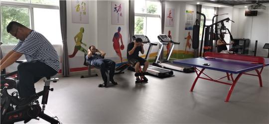 湖北高速黄黄支队第三大队积极开展2020年全国健身日活动