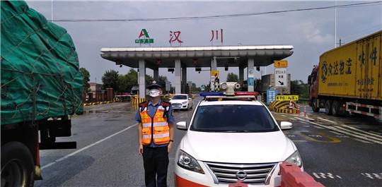 湖北高速汉十支队武荆第一大队积极开展超限运输专项整治工作
