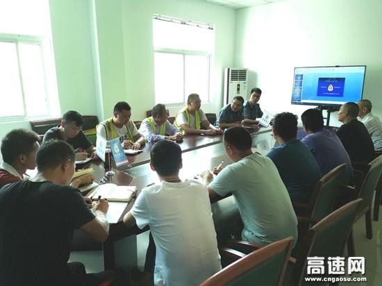 湖北高速路政汉十支队谷竹第二大队开展涉路施工安全教育培训