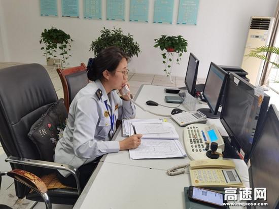 甘肃宝天高速公路东岔收费站入口危化品车辆管控