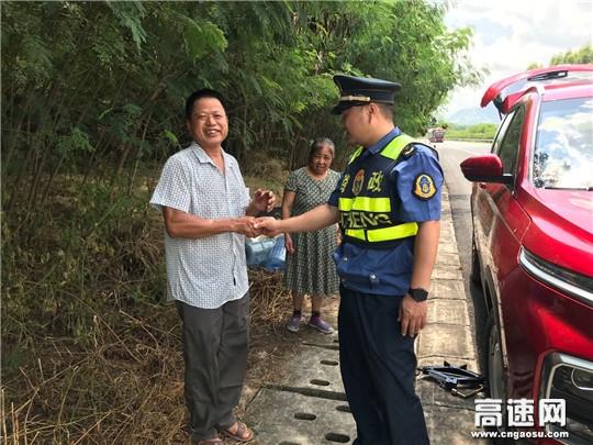 """广西高速公路发展中心玉林分中心""""阳光路政""""初心为民、不忘服务"""