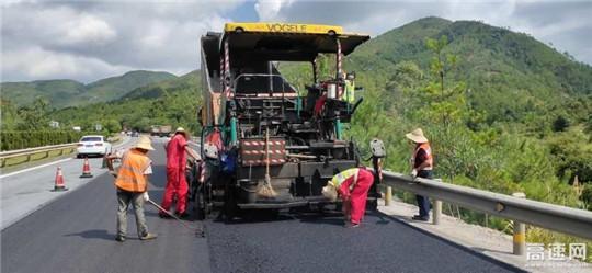 江西省公路工程公司养护分公司2020年路面养护专项工程顺利完工