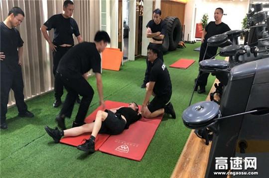广西公安厅高速公路管理支队十三大队开展新一轮警务实战训练