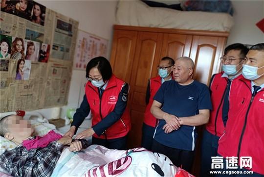 内蒙古公投海拉尔北通行费收费所开展志愿者行动主题党日活动