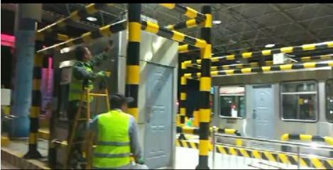甘肃高速罗汉洞收费站全力做好施工期间 职工的安全保障工作