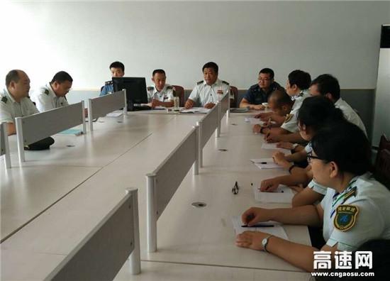 河北沧廊(京沪)高速姚官屯收费站开展文明服务提升月活动