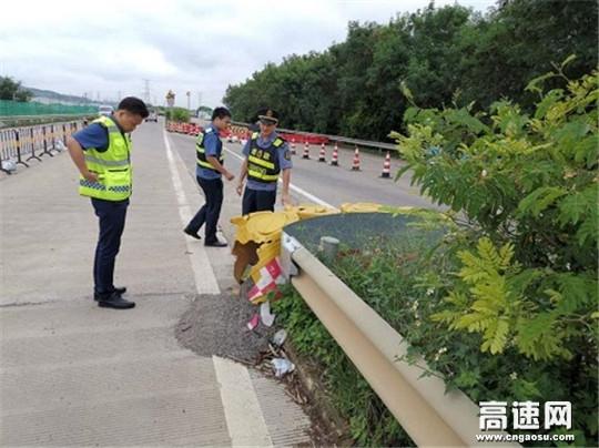 广西高速公路发展中心玉林分中心桂平一大队强化行业监管开展节前安全检查