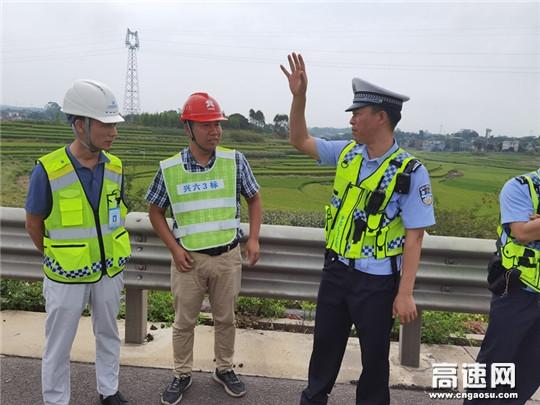 广西高速十三大队强化国庆中秋节假期路面巡查布控