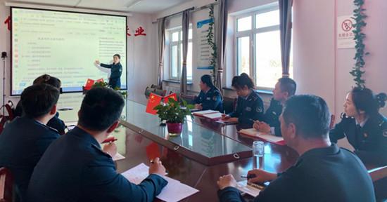 内蒙古公交投呼伦贝尔分公司阿荣旗北通行费收费所加强信息宣传工作管理