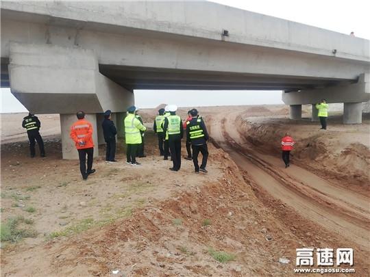 甘肃高速金昌收费所多措并举确保冬季道路安全畅通