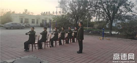 河北沧廊(京沪)高速开发区收费站文明礼仪培训进行时