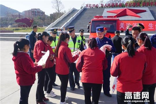 陕西省高速集团铜旬分公司全面构筑道路火灾防火墙