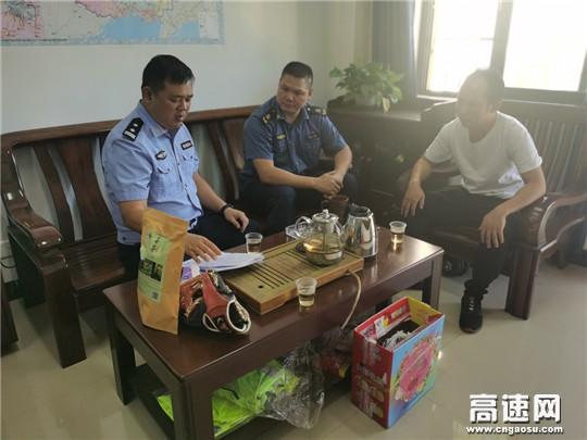 广西高速公路发展中心玉林分中心博白大队加强对辖区施工许可项目文件复核