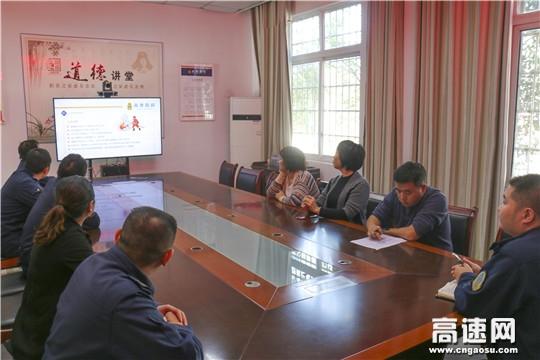"""贵州省遵义高速公路管理处赤水路政执法大队开展""""119""""消防安全演练活动"""