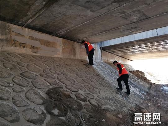 河北省厅公路局督导京秦分公司养护及冬季安全保畅工作