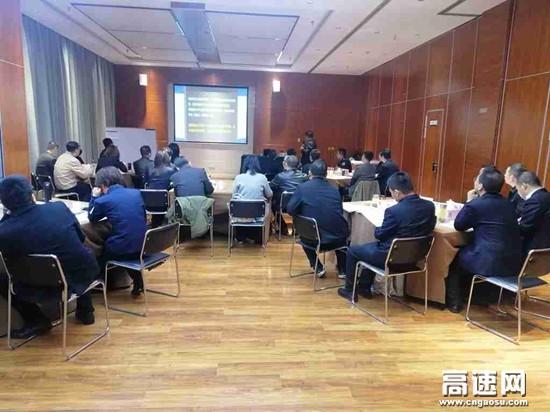 """陕西省高速集团铜旬分公司与汉宁分公司联合举办提升""""中坚力量""""培训班"""
