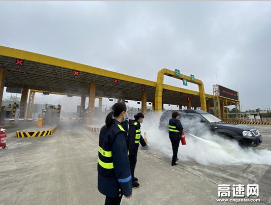 """湖南长沙高速北盛中心站--""""面对面""""""""实打实""""为应急演练保驾护航"""