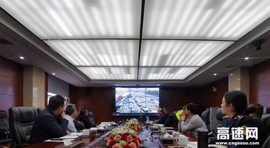 刘竞良一行调研湖南高速公路长沙分公司雨花收费站防堵保畅工作
