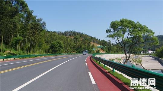 江西省安福县旅游快速通道泰山至文家通过交工验收