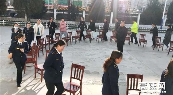 甘肃高速泾川所白水收费站举办职工趣味运动会
