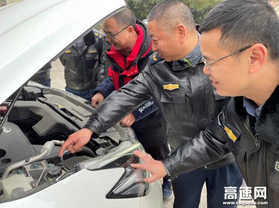 湖北汉十支队第二大队开展冬季车辆安全专项培训活动