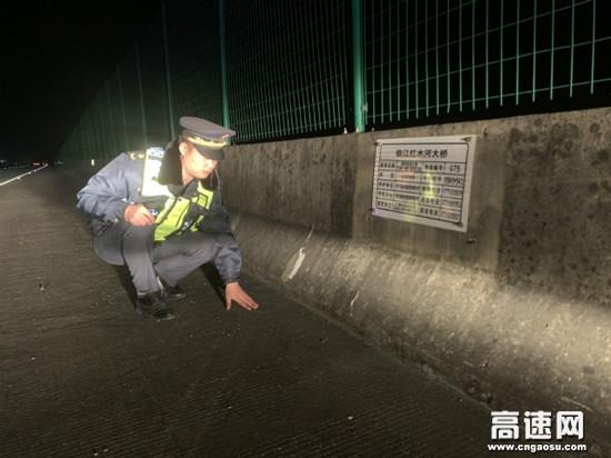 广西南宁高速公路马山路政执法大队多措并举应对寒潮天气