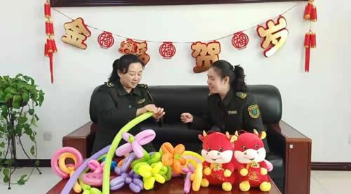 防疫不放松 欢乐不打烊 沧廊(京沪)高速沧州开发区收费站 举办迎新年网络联欢会