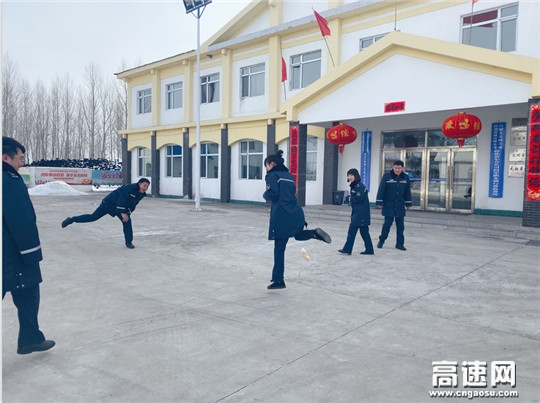 内蒙古公投阿荣旗北通行费收费所开展元宵节趣味活动