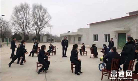 甘肃高速泾川所白水收费站举办庆三八系列活动