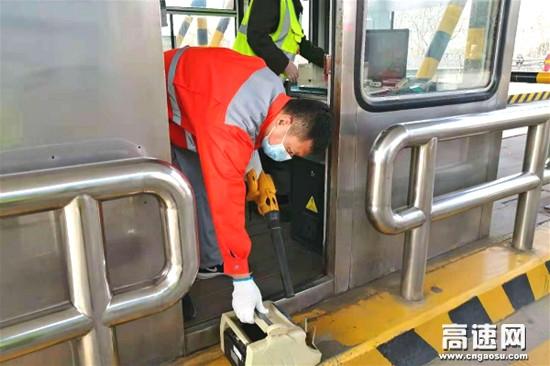 河北保沧公司大庄站积极做好设备巡检养护工作