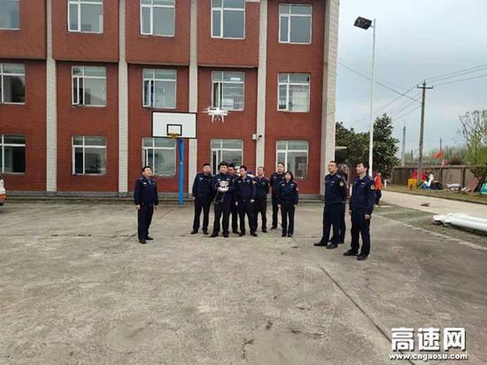 湖北高速路政汉十支队武荆第一大队开展无人机操作学习培训
