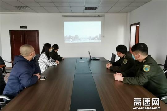 河北保沧公司沙河桥党支部组织观看《榜样五》